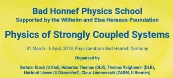 Bad Honnef Physics School