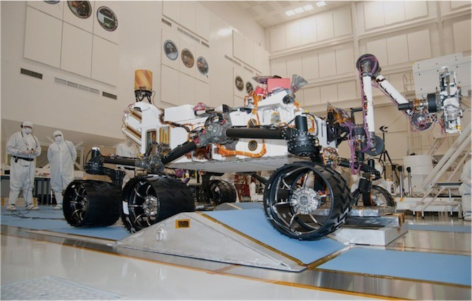 Curiosity at JPL.