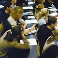 Studierende während einer Vorlesung-2