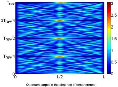 Quantum carpets