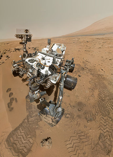 """Abbildung 2: Der Marsrover """"Curiosity"""""""